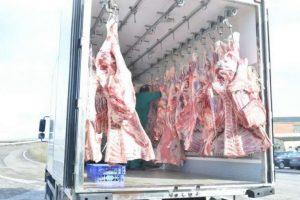 حمل گوشت و مرغ