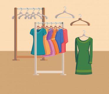 بسته بندی صحیح لباس ها در هنگام اسباب کشی